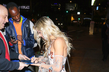 Lindsay Arnold Lindsay Arnold Outside The Abbey Nightclub In West Hollywood