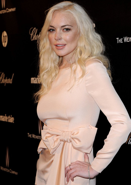 Lindsay Lohan The Weinstein Company 2012 Golden Globe Awards After Party. .Beverly Hilton Hotel, Beverly Hills, CA.January 15, 2012.