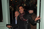Lionel Richie and Philip Green seen having dinner together at Sexy Fish.