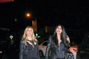 Lisa Gastineau and Brittny Gastineau are seen in Los Angeles, California.