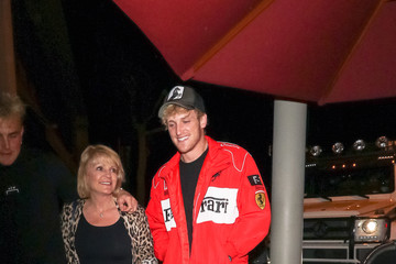 Logan Paul Logan Paul Outside Craig's Restaurant In West Hollywood