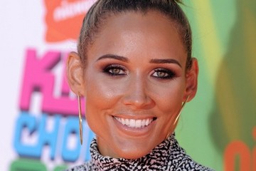 Lolo Jones Arrivals at the Nickelodeon's Kids' Choice Sports