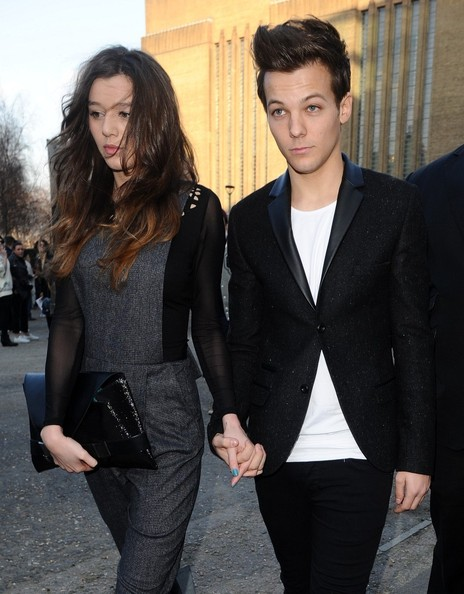 Louis Tomlinson and Eleanor Calder Photos - LFW a/w 2013 ...