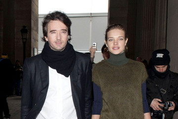 Natalia Vodianova Bernard Arnault Celebs at the Louis Vuitton Show in Paris 2