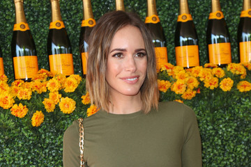 Louise Roe Celebrities Arrive at the Sixth-Annual Veuve Clicquot Polo Classic