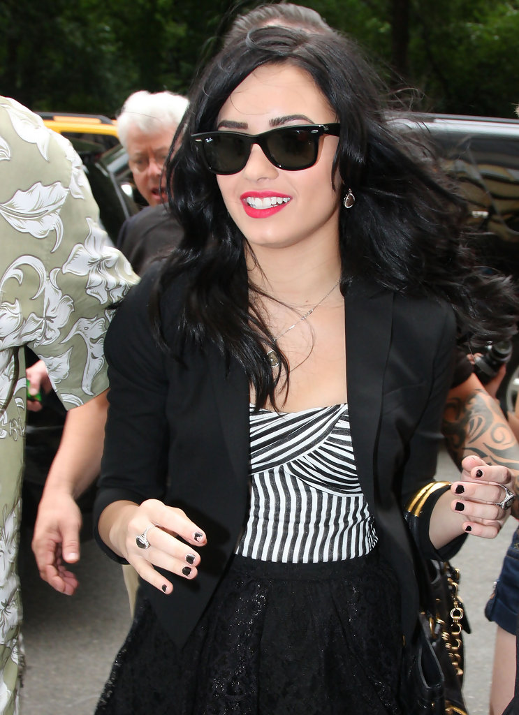 demi lovato in demi lovato at trump hotel zimbio