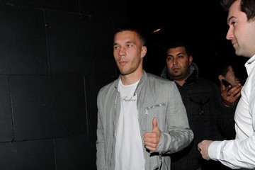 Lucas Podolski Celebs Leaves Rihanna's Secret Show 2