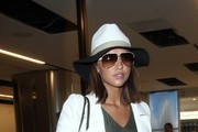 Lucy Mecklenburgh Is Seen at LAX