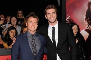 Luke Hemsworth 'The Hunger Games: Catching Fire' Premieres in LA