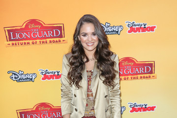 Madison Pettis Celebrity Arrive at 'The Lion Guard: Return of the Roar'
