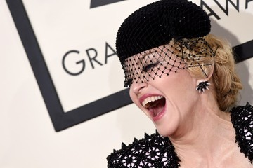 Madonna Arrivals at the Grammy Awards