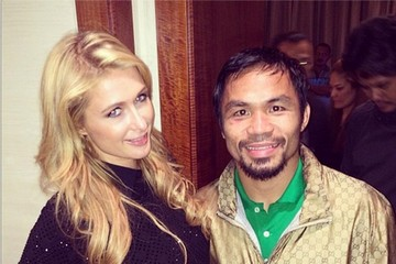 Manny Pacquiao Celebrity Social Media Pics