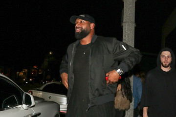 Marcedes Lewis Marcedes Lewis Is Seen Outside Catch Restaurant in West Hollywood