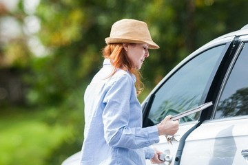 Marcia Cross Marcia Cross Runs Errands