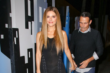 Maria Menounos Maria Menounos Outside Delilah Nightclub In West Hollywood