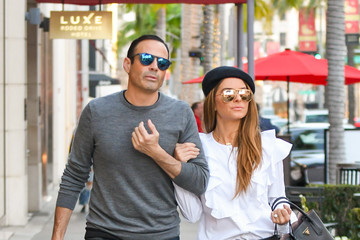 Maria Menounos Maria Menounos and Husband Keven Undergaro Out and About