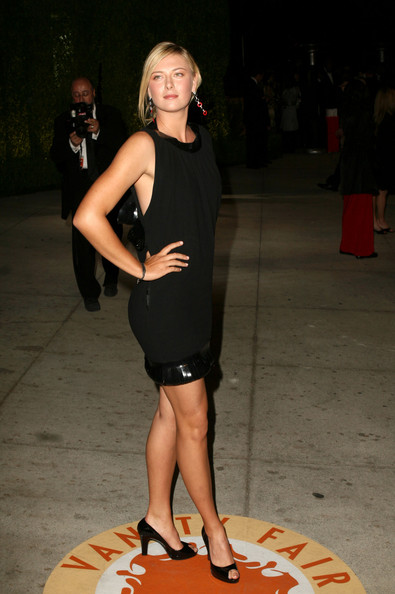 Maria Sharapova - 2007 Vanity Fair Oscar Party