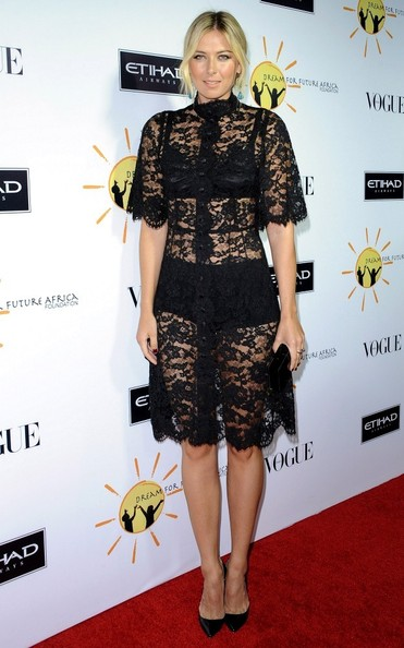 Maria Sharapova - Stars at the Dream for Future Africa Foundation Gala