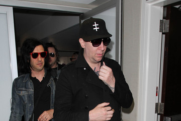 Marilyn Manson Marilyn Manson Is Seen at LAX
