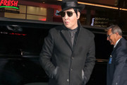 Marilyn Manson Is Seen At The 'Halloween' Premiere At TLC Chinese Theatre In Hollywood