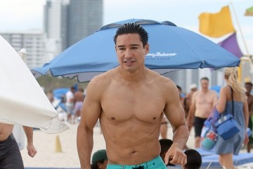 Mario Lopez Mario Lopez on Miami Beach