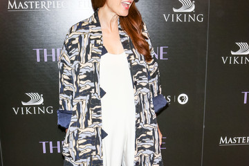 Marisa Tomei Blanca Blanco Attends 'The Chaperone' Premiere At The Linwood Dunn Theater