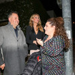 Marissa Winokur Ross Mathews Outside Craig's Restaurant