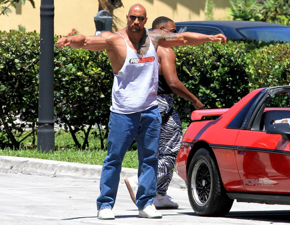 Dwayne The Rock Johnson Cars