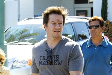 Mark Wahlberg Mark Wahlberg Out with His Kids
