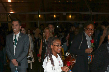 Marsai Martin Celebrity Sightings Outside the 'Beauty and The Beast' Premiere at El Capitan Theatre