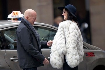 Mary-Louise Parker Bruce Willis Stars Film 'Red 2' in Paris 2