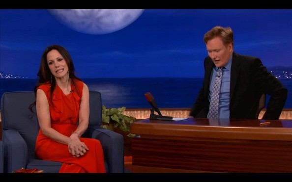 Mary-Louise Parker Drops by 'Conan' []