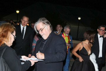 Matt Groening Celebrities Are Seen at the 44th Annual Annie Awards at Royce Hall