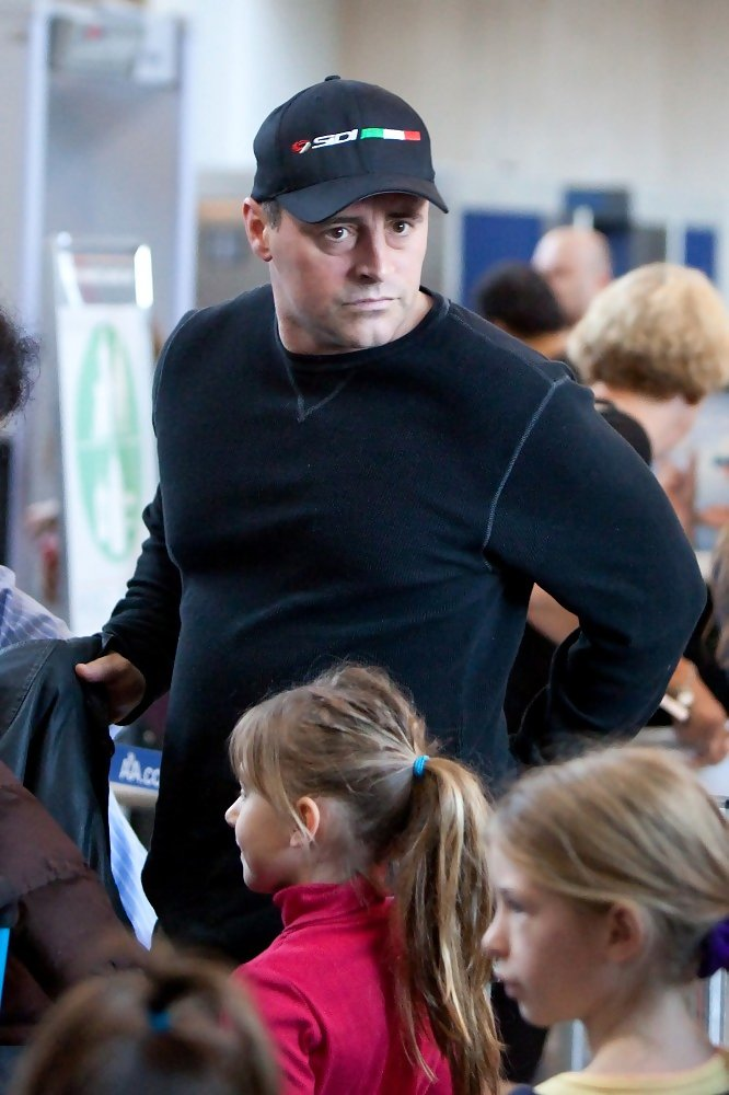 Matt LeBlanc at LAX - Zimbio