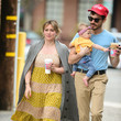 Matthew Koma Hilary Duff Walks With Husband Matthew Koma And Baby Banks