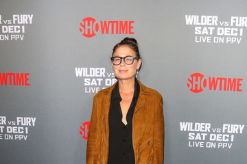 Maura Tierney Tyson Fury At 'Fury vs. Wilder' Fight At The Staples Center
