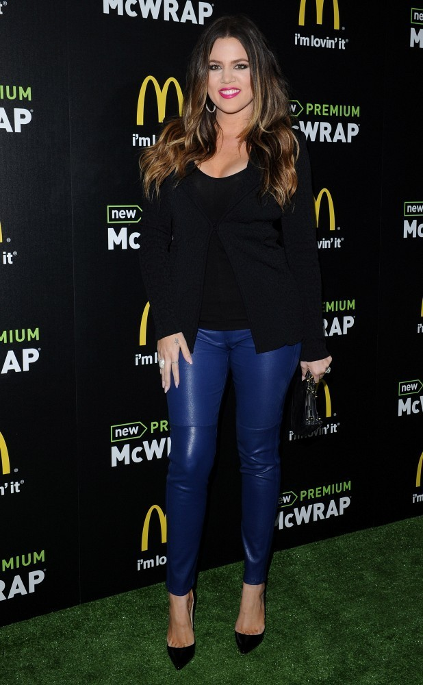 McDonald's Premium McWrap Launch Party..Paramount Pictures Studios, Hollywood, CA..March 28, 2013..Job: 130328A1..(Photo by Axelle Woussen)..Pictured: Khloe Kardashian.