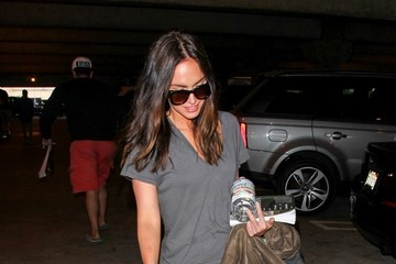 Megan Fox Megan Fox at LAX