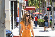 Megan Pormer shopping in Beverly Hills