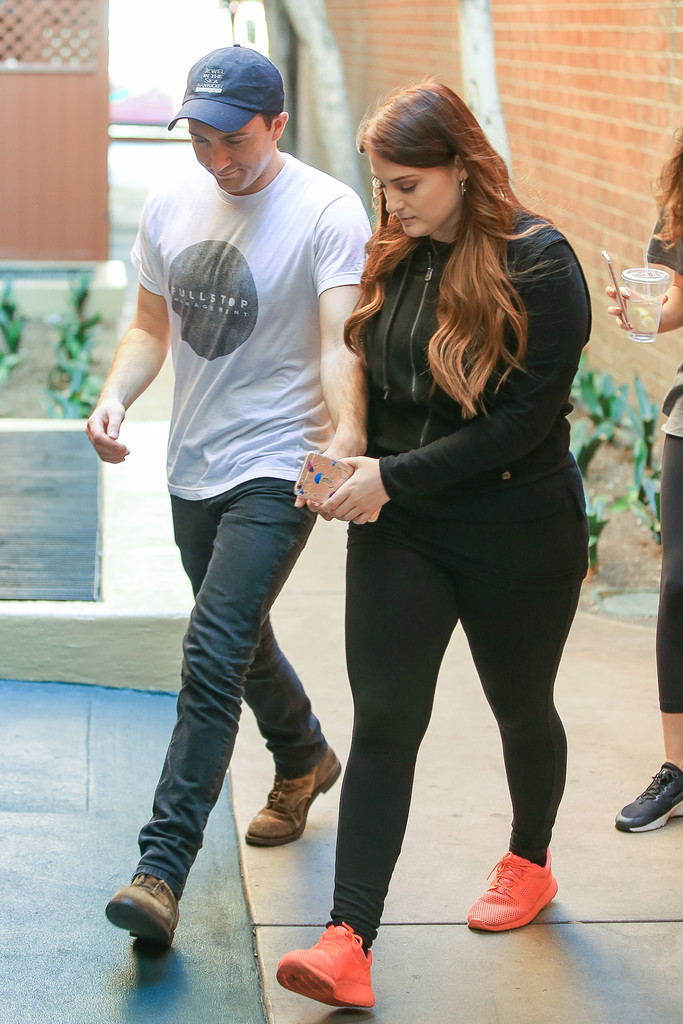 Daryl Sabara in Meghan Trainor Is Seen Out Hand-in-Hand ...