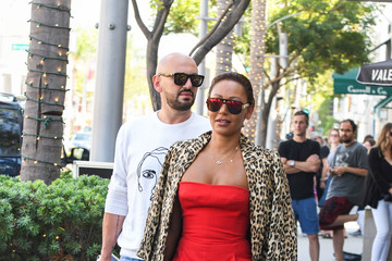 Melanie Brown Mel B Is Seen Outside Wolfgang's Steakhouse