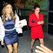 Melissa Claire Egan Chrishell Hartley and Melissa Claire Egan outside The Hustle Premiere at ArcLight Theatre