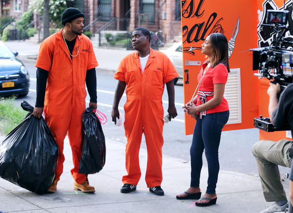 Method Man And Tracy Morgan Film The Last Og Zimbio