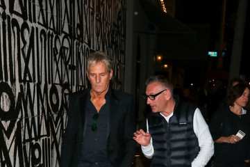 Michael Bolton Michael Bolton Is Seen Outside Craig's Restaurant In West Hollywood
