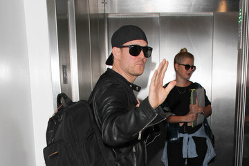 Michael Buble Michael Buble is Seen at LAX