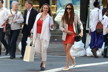 Michaela Constantine Nina Dobrev Shops With Her Mom