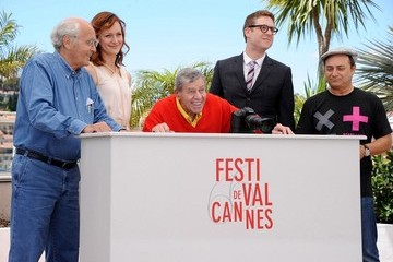 Michel Legrand Kerry Bishe 'Max Rose' Photo Call in Cannes