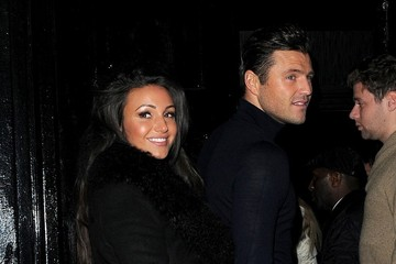 Michelle Keegan Mark Wright Celebs at the 9 Swallow Street Launch