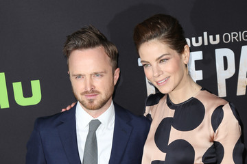 Michelle Monaghan Aaron Paul Celebrities Attend the Premiere of Hulu's 'The Path' at ArcLight Theatre