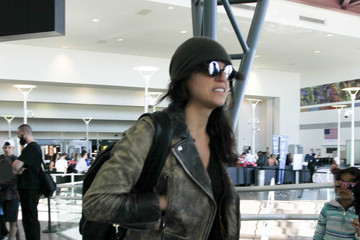 Michelle Rodriguez Michelle Rodriguez Is Seen at LAX